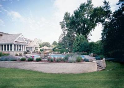 Custom Retaining Wall, Raised Planter, Custom Pool Deck, Outdoor Room