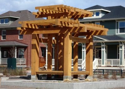 Custom Pergola, Hardwood Deck, Outdoor Living Space