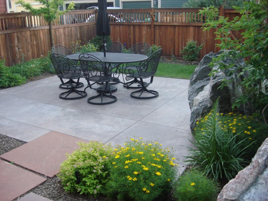 Custom Patio, Flagstone Path, Outdoor Room