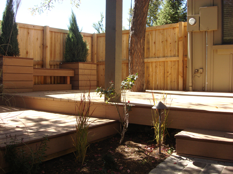 Custom Deck, Outdoor Room, Custom Planters, Ornamental Flower Beds, Paver Walkway