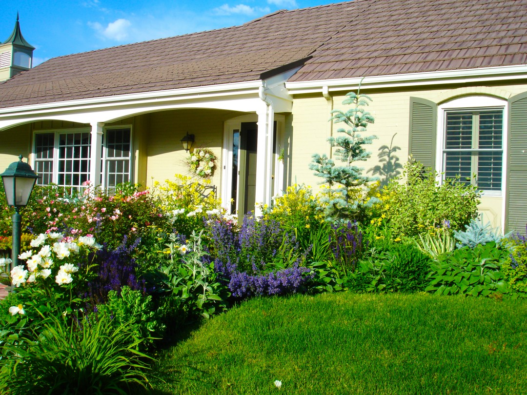 Curb Appeal, Ornamental Planting Beds