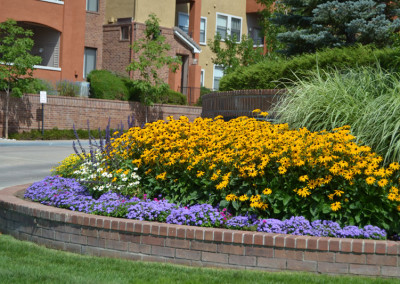 Ornamental Flower Bed, Curb Appeal