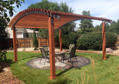 Custom Pergola, Paver Patio, Outdoor Room