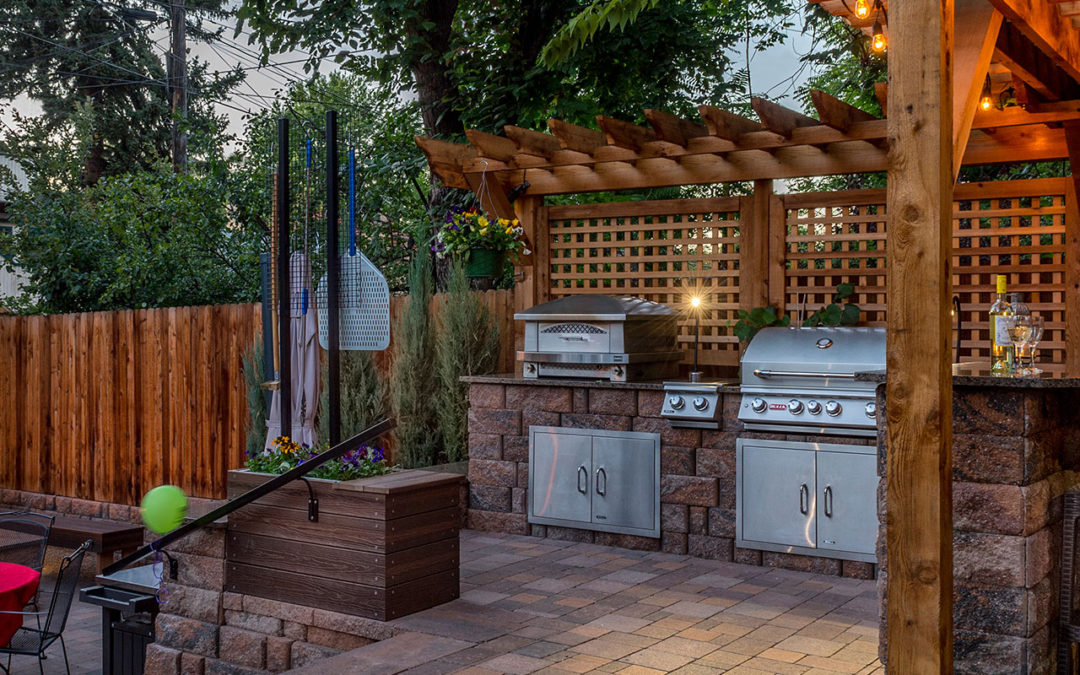 Humboldt Street Retreat - Outdoor Fireplaces And Fire Pits Archives - Denver Landscapes