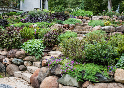 Stone Steps in the Garden