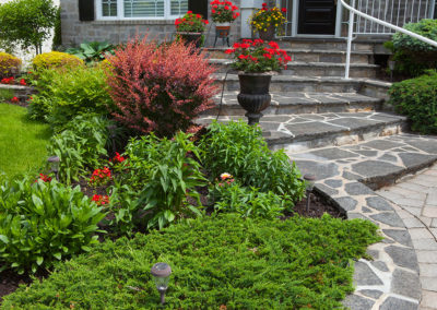 front yard ornamental garden
