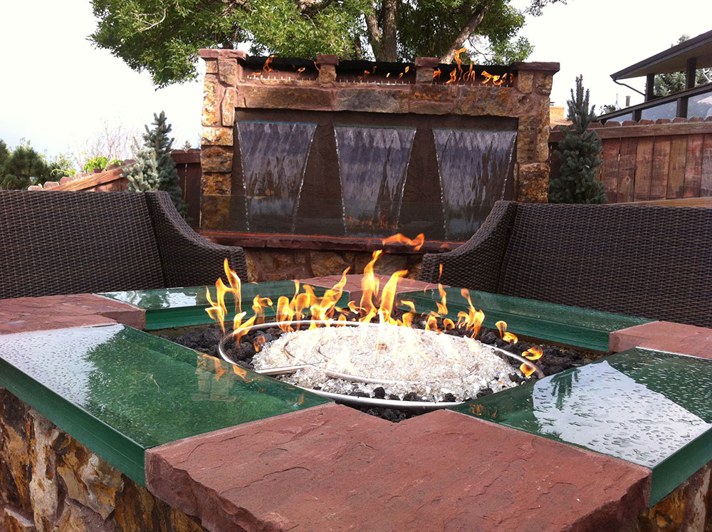 Outdoor Fireplaces Fire Pits Denver Landscapes