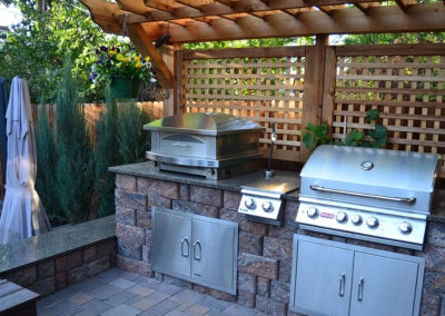 outdoor kitchen in denver