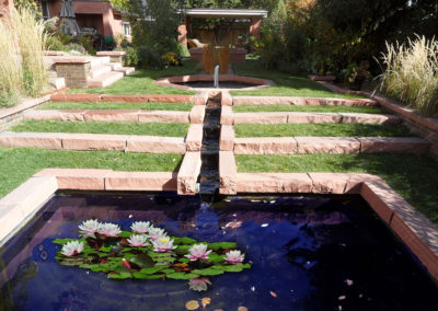 stone pond